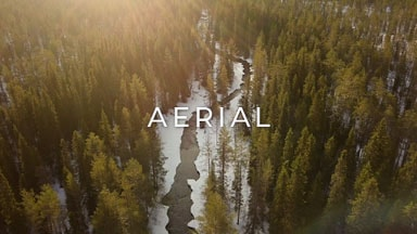 stock footage category finland aerial